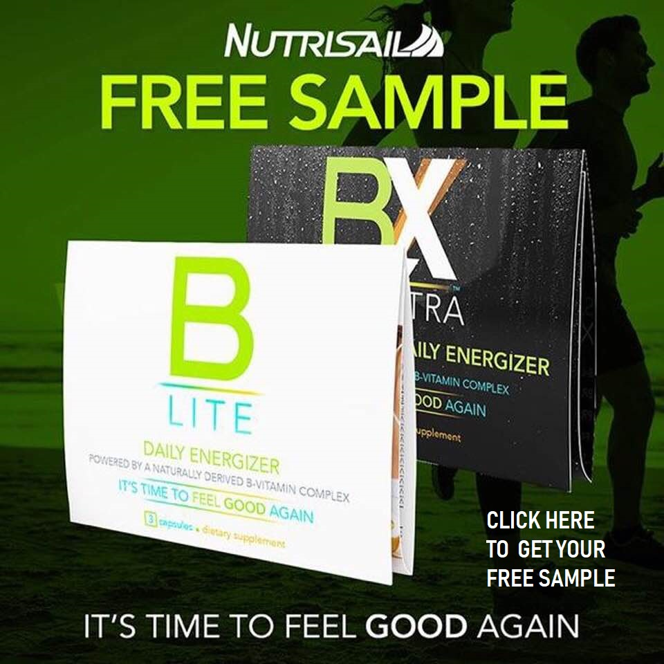 Nutrisail B-Lite daily energizer awakens your mind and body